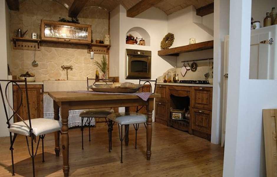 Charmehouse cucine rustiche - Soggiorno rustico moderno ...